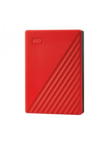 HDD External WD 4T.B Passport-Red