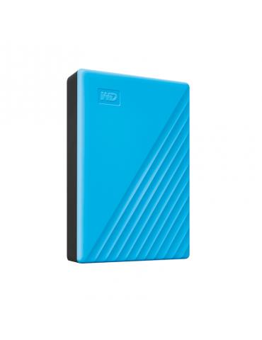 HDD External WD 4T.B Passport-Blue