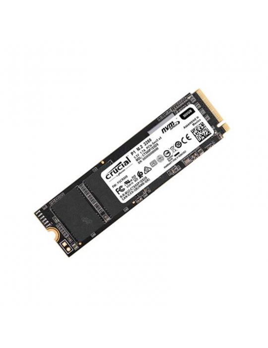 هارد ديسك - SSD Crucial 500GB M.2 P1 NVMe