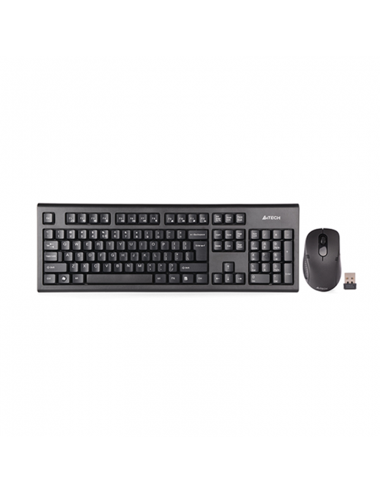 Keyboard & Mouse - KB+Mouse A4Tech Wireless 7100N