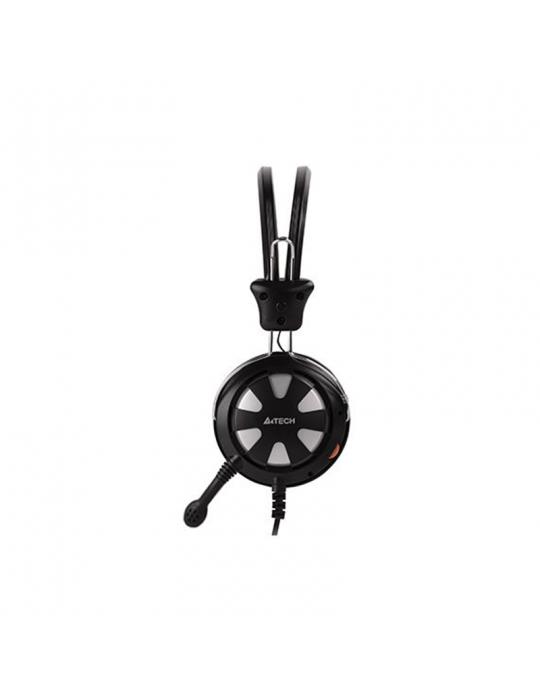 Headphones - Headset A4Tech HS-28 Silver 2