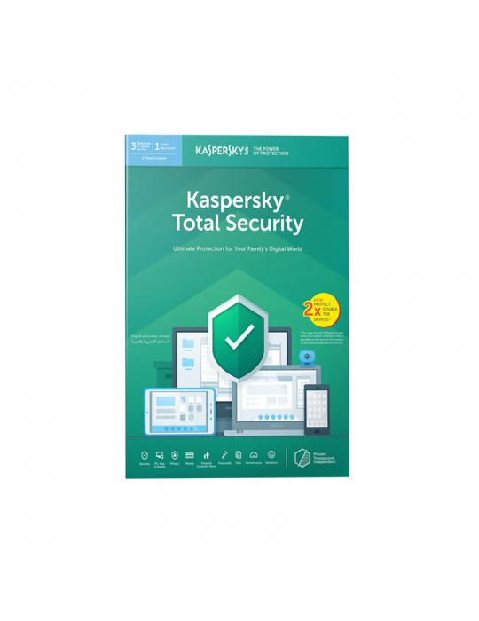 Software - KasperSky Internet Security 8 users (4 + 4)