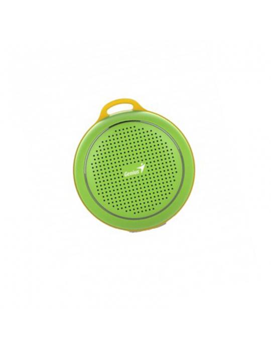 Speakers - SPEAKER Genius SP-906BT-5 HOURS PLAY TIME-500MAH BATTERY WITH CARABINER-FRESH GREEN