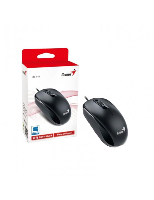 كروت ذاكرة - Mouse Genius DX-110 SMART GENIUS APP Black