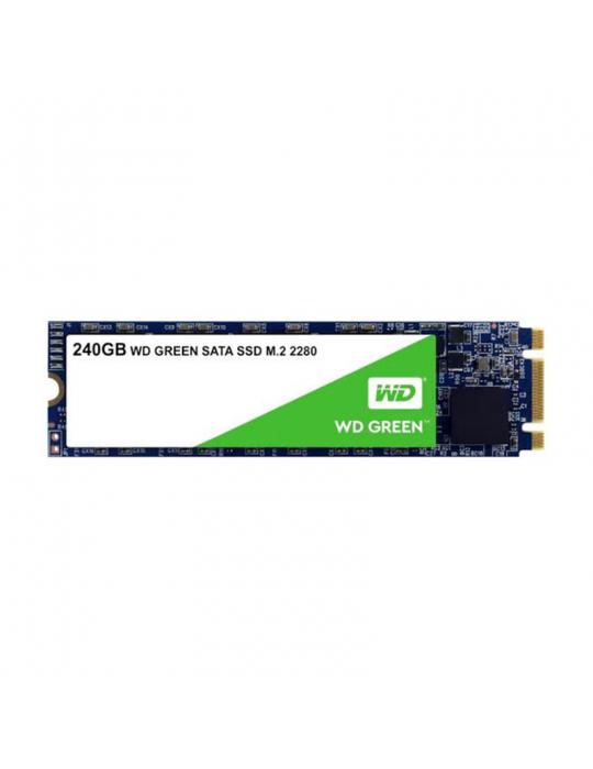 هارد ديسك - Western Digital Green 240 GB SSD HDD (SATA/600)-Internal-M.2 2280