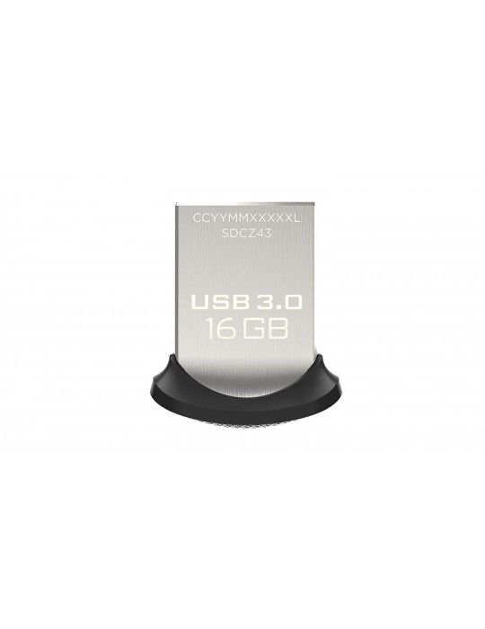 Flash Memory - Flash Memory 16GB SanDisk-Ultra FIT-USB3