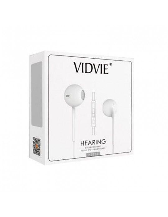 سماعات اذن - Earphone Vidvie 604 Black