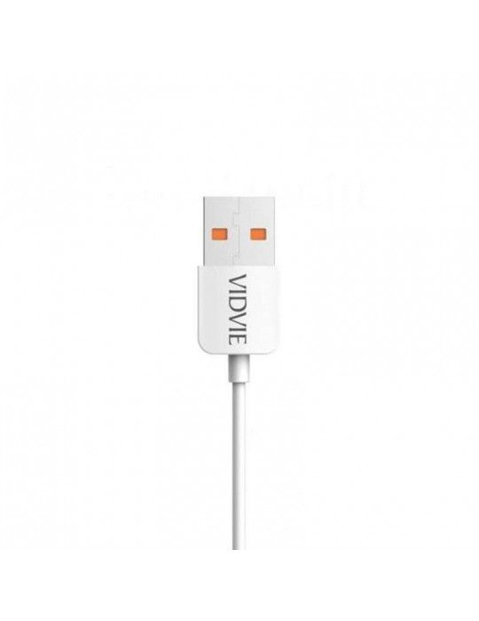 إكسسوارات الموبايل - Vidvie Data & Charging Cable Micro CB412v