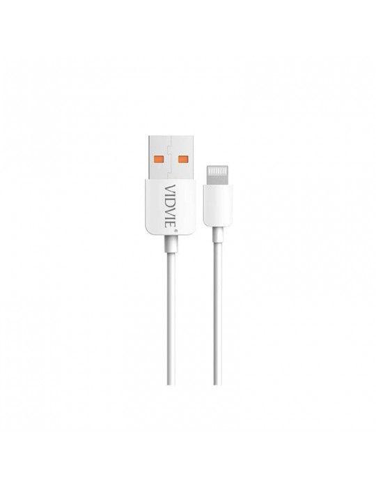 إكسسوارات الموبايل - Vidvie Data & Charging Cable iphone CB412i