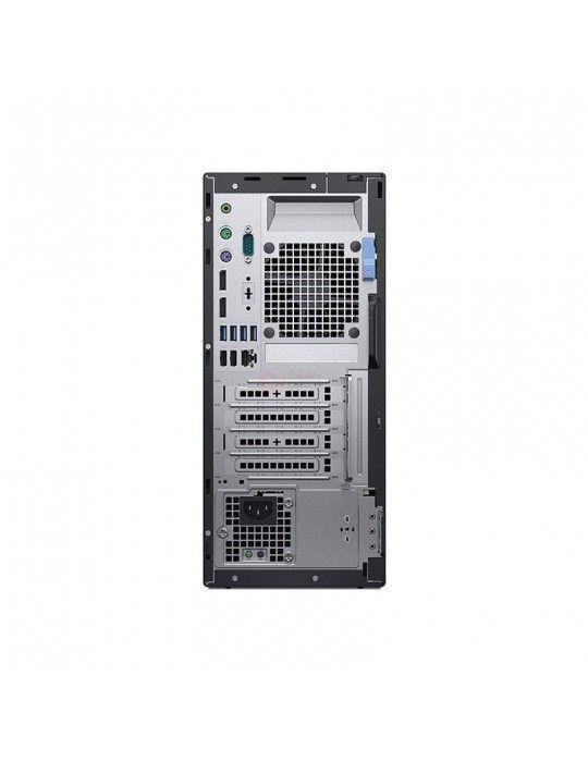 Desktop - Dell Optiplex 7060 Intel Core i7-8700-4GB RAM DDR4-1TB HDD-VGA Intel HD-DVD R/W-DOS-Black-Dell KB & Mouse