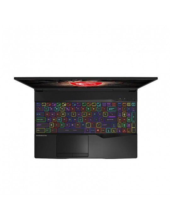 """كمبيوتر محمول - msi GL65-9SE core i7-9750H-16GB DDR4-1TB HDD-256GB SSD-RTX 2060 6GB-15.6"""" FHD"""