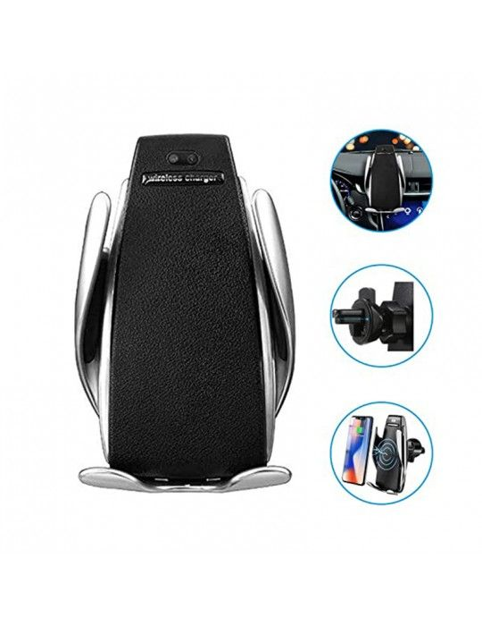 Mobile Accessories - Automatic Clamping Wireless Car Charger with Smart Sensor