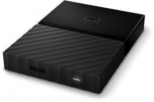 Hard Drive - HDD External WD 2 T.B Passport USB 3 (Black)