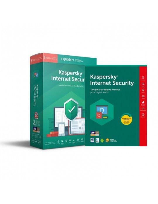 برمجيات - KasperSky Internet Security 3 DEVICE + 1FREE