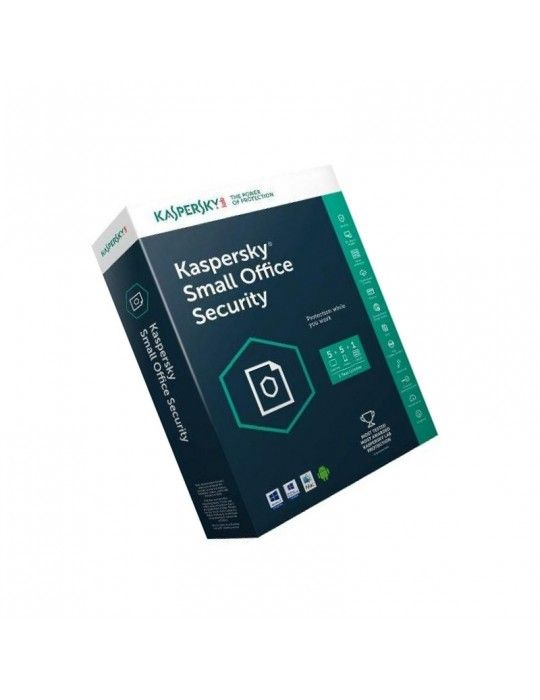 Software - KasperSky small office security V5-1 Server+5 Users+5 Mobiles-1Year
