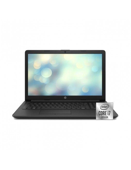 كمبيوتر محمول - HP 15-da2004ne i7-10510U-16GB-2TB-MX130-4GB-15.6 HD-DVD-DOS-Black