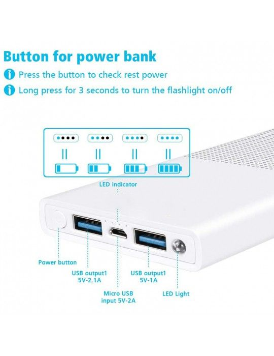 باور بانك - Power bank extra 10000 mAH