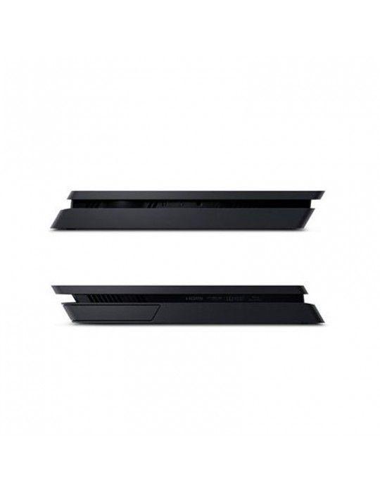 بلاي ستيشن - Sony PlayStation® 4 Slim 1TB Console +1 DUALSHOCK®4 Controller + 3 Games Mega Pack (Official Warranty)