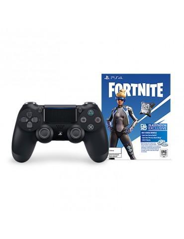 DUALSHOCK®4 Wireless Controller for PS4™ - Jet Black + Fortnite Neo Versa bundle (Official Warranty)