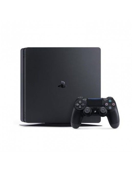 Playstation - Sony PlayStation® 4 Slim 500 GB Console +1 DUALSHOCK®4 Controller + 3 Games Mega Pack (Official Warranty)
