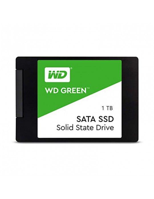 Hard Drive - SSD HDD WD 1TB Green 2.5 SATA