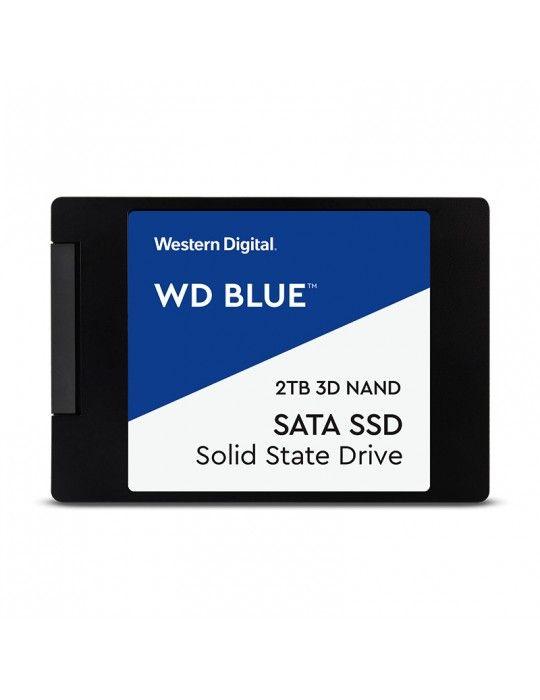 Hard Drive - SSD HDD WD 2TB Blue 3D NAND 2.5 SATA