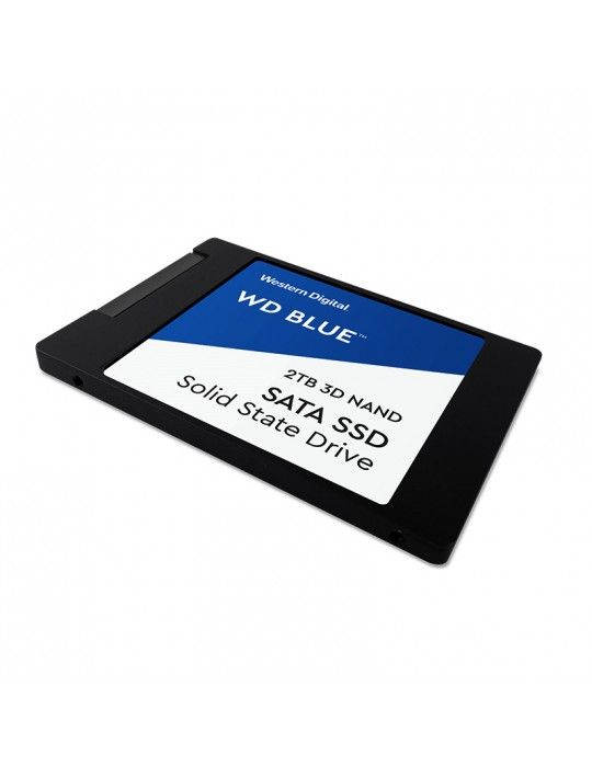 هارد ديسك - SSD HDD WD 2TB Blue 3D NAND 2.5 SATA