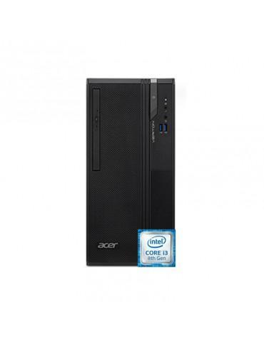 Desktop Acer Veriton 2730G  i3-8100-4GB-1TB-Intel Graphics-DOS-1 Year Warranty