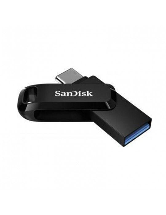 فلاش ميمورى - Flash Memory 128GB SanDisk Dual Drive Type-C OTG