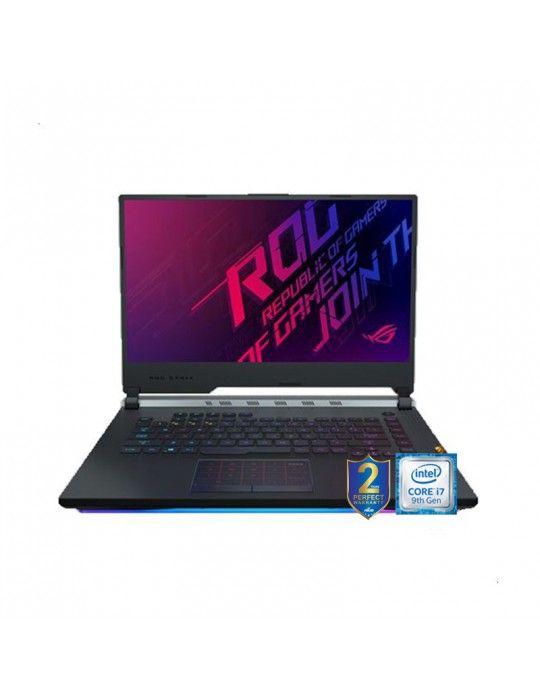 كمبيوتر محمول - ASUS ROG-STRIX-SCAR Intel core I7-9750H-BGA-16GB DDR4-1TB5 SSH8G-256G PCIE-NVIDIA GEFORCE RTX 2060 6GB