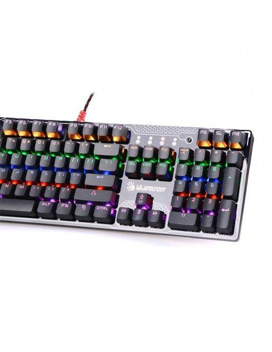 Keyboard - B810R LIGHT STRIKE RGB ANIMATION GAMING KEYBOAD