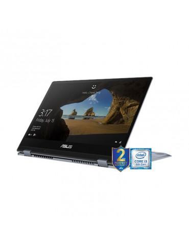 ASUS VivoBook Flip 14 TP412FA-EC141T-I3-8145U-DDR4 4G-256G PCIE G3X2 SSD-Intel-14.0 FHD- GLARE TOUCH- -win10-1A-STAR GREY