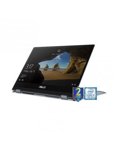ِASUS VivoBook Flip14-TP412FA-EC308T i5-8265U-DDR4-16G-512G PCIE G3X2 SSD-14.0 FHD GLARE TOUCH- Intel