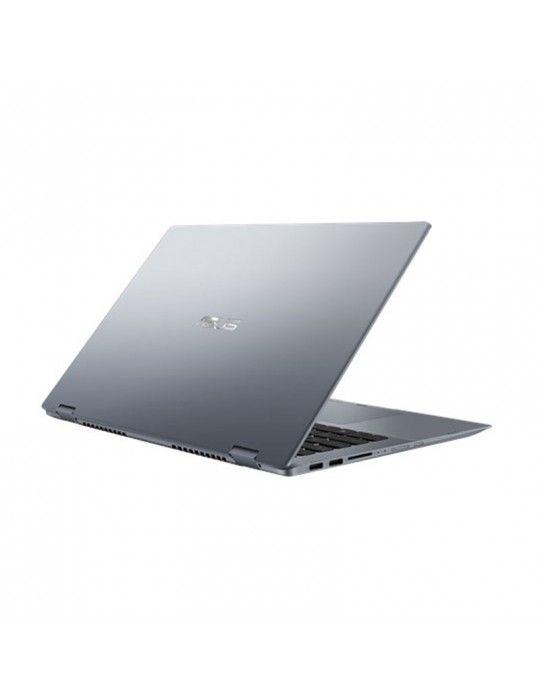 كمبيوتر محمول - ِASUS VivoBook Flip14-TP412FA-EC308T i5-8265U-DDR4-16G-512G PCIE G3X2 SSD-14.0 FHD GLARE TOUCH- Intel