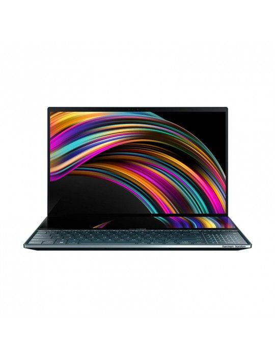 كمبيوتر محمول - ASUS Zenbook Duo UX481FL-BM039T-i7-10510U-16G-1TB SSD-MX250-2G-14.0 FHD- Win10-Sleeve-Stylus pen