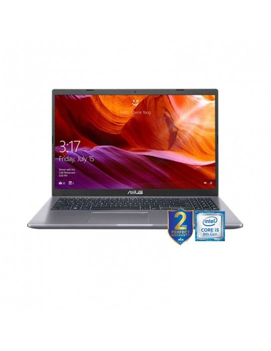 Laptop - ASUS 15 X509FB-EJ202T i5-8265U-DDR4 8G-1TB 54R+128G PCIE G3X2 SSD-MX110-2GB-15.6 FHD-win10-1G-SLATE GREY