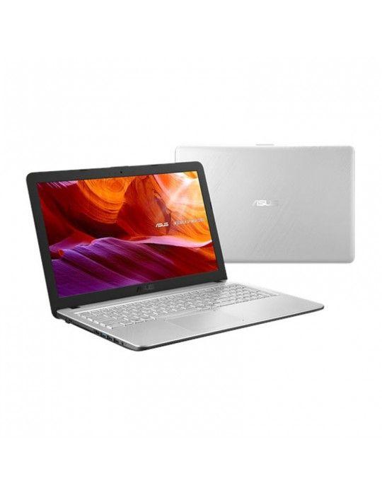 Laptop - ASUS X543UB-DM1405-i7-8550U-DDR4 8G-1TB 54R-MX110-2GB-15.6 FHD- ENDLESS-TRANSPARENT SILVER
