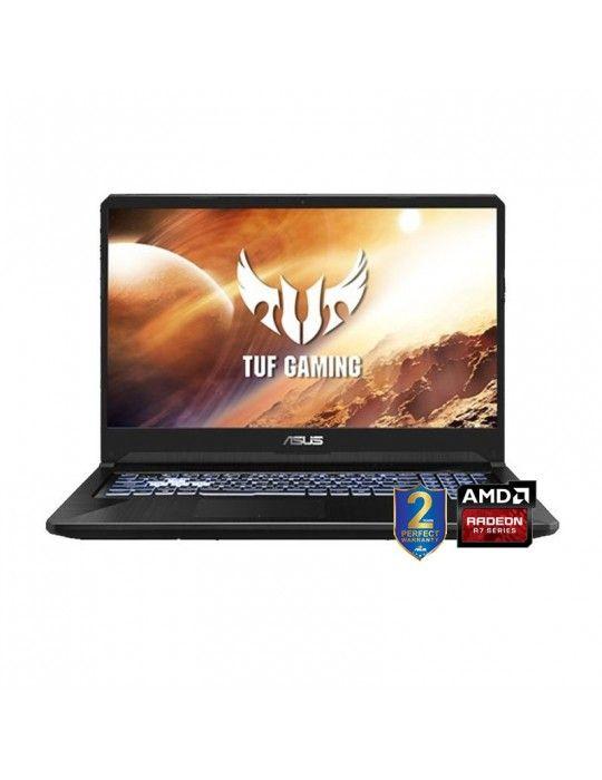 Laptop - ASUS TUF Gaming FX705DU-H7106T -AMDR7-3750H-DDR4 16G-1TB 54R+256G PCIE SSD-GTX 1660Ti-GDDR6 6GB-17.3 FHD-Win10-BLACK P