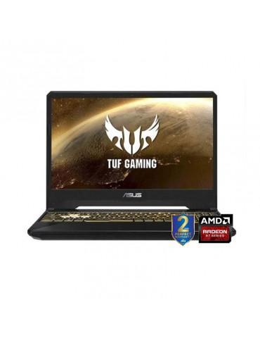 ASUS TUF Gaming FX505DU-AL130T-AMDR7-3750H-DDR4 16G-1TB 54R+512G PCIE SSD-GTX 1660Ti-GDDR5 6GB-15.6 FHD-Win10-1B-BLACK PLASTIC