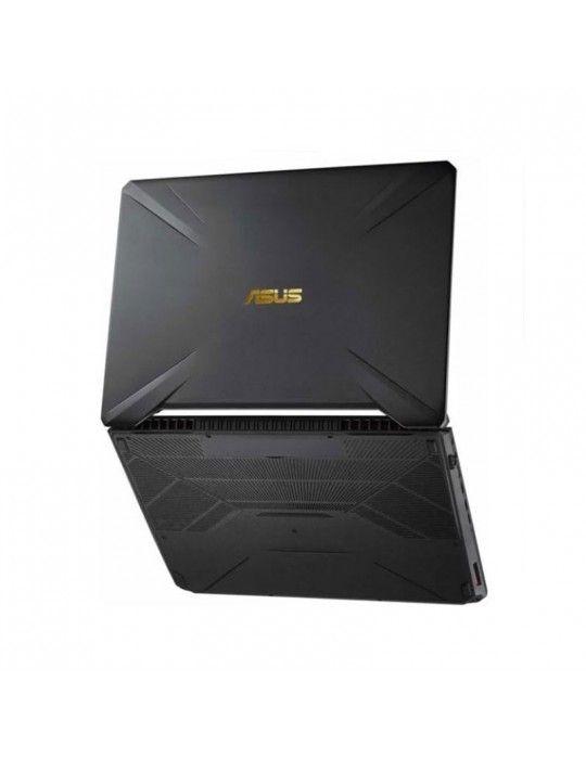 كمبيوتر محمول - ASUS TUF Gaming FX505DU-AL130T-AMDR7-3750H-DDR4 16G-1TB 54R+512G PCIE SSD-GTX 1660Ti-GDDR5 6GB-15.6 FHD-Win10-1