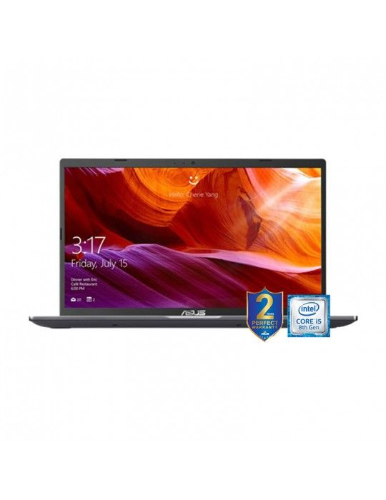 Laptop - ASUS 15 X509FB-EJ199T-i5-8265U-DDR4 4G-1TB 54R-MX110-2GB-15.6 FHD-win10-1G-SLATE GREY