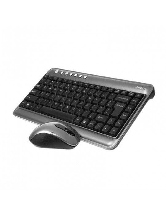 Keyboard & Mouse - KB+Mouse A4Tech Wireless 7300N