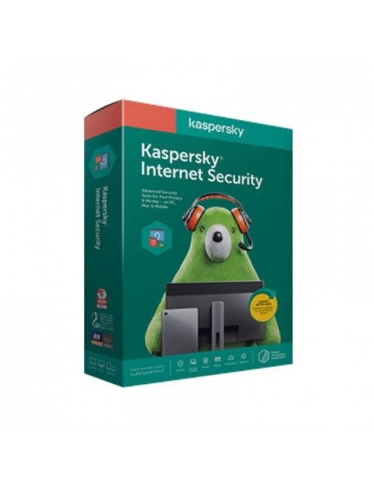 Software - Kaspersky Internet Security Multi Device 2 User 2020 (Windows, Mac, Android )- Media & License / 1Y
