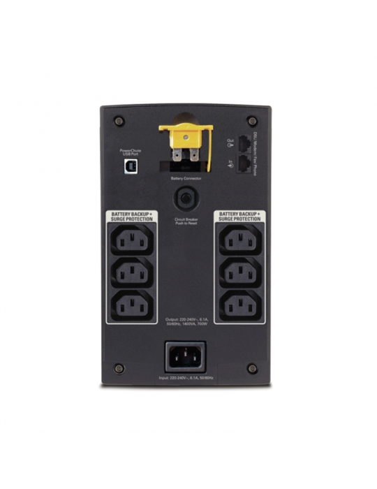 يو بى اس - APC Back-UPS 1400VA-230V-AVR-IEC Sockets