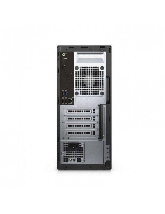 كمبيوتر مكتبى - Dell Optiplex 3060 i5-8500-4GB-1TB-UHD-DOS-BLACK-1Year Warranty