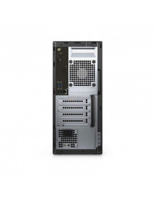 كمبيوتر مكتبى - Dell Optiplex 3060-Intel Core i3-8100-4GB DDR4-1TB HDD-Intel Graphics-DOS-Black