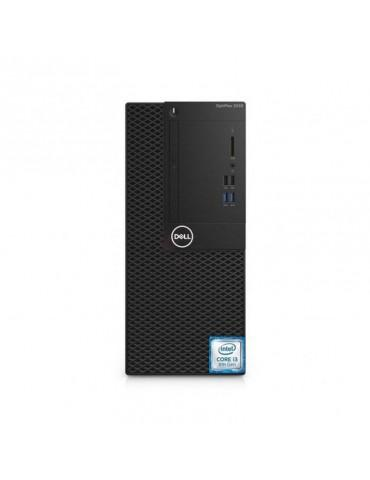 Dell Optiplex 3060-Intel Core i3-8100-4GB DDR4-1TB HDD-Intel Graphics-DOS-Black