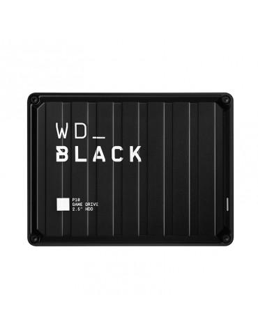 HDD External WD 2TB Black P10 Gaming Drive Works with All Game Consoles