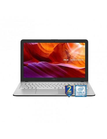ASUS  X543UB-GQ1037  i3-7020U-DDR4 4G-1TB 54R-MX110-2GB-15.6 HD ENDLESS-TRANSPARENT SILVER