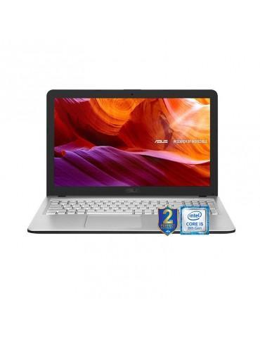 ASUS X543UA-GQ1849 i5-8250U-DDR4 4G-1TB 54R-Intel-15.6 HD-ENDLESS-TRANSPARENT SILVER